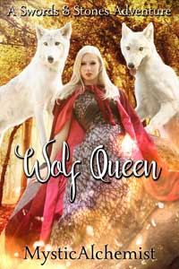 Wolf Queen by MysticAlchemist book cover